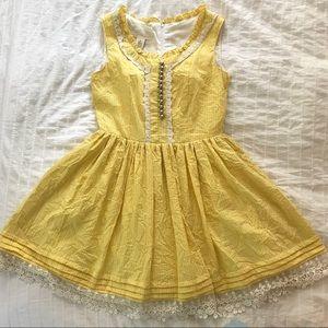 Yellow Vintage-Inspired Sundress